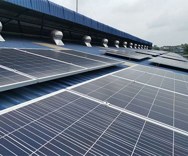 Solar ground mounting system with Double support in Japan