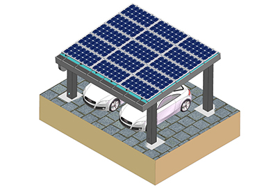 HQ Mount solar Carport Mount design was approved by Australia client.