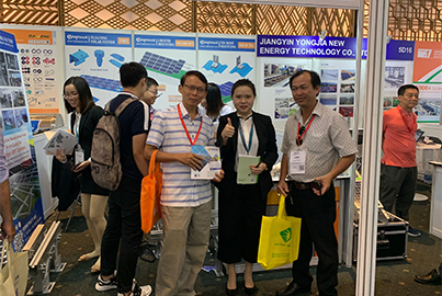 HQ Mount Attended The Solar Show Vietnam 2019